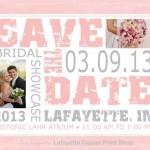 2013 Bridal Showcase Save The Date
