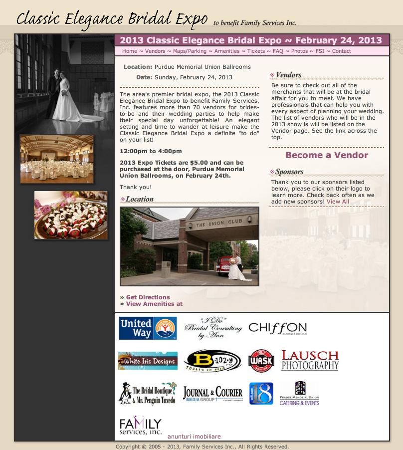 2013 Classic Elegance Bridal Expo
