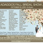 Addagios Fall Bridal Show Time-Keepers Productions 2013
